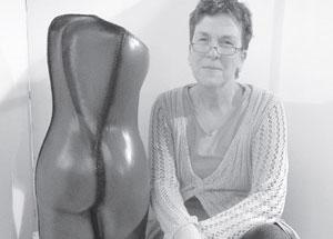 Annet Wood met beeld Vera